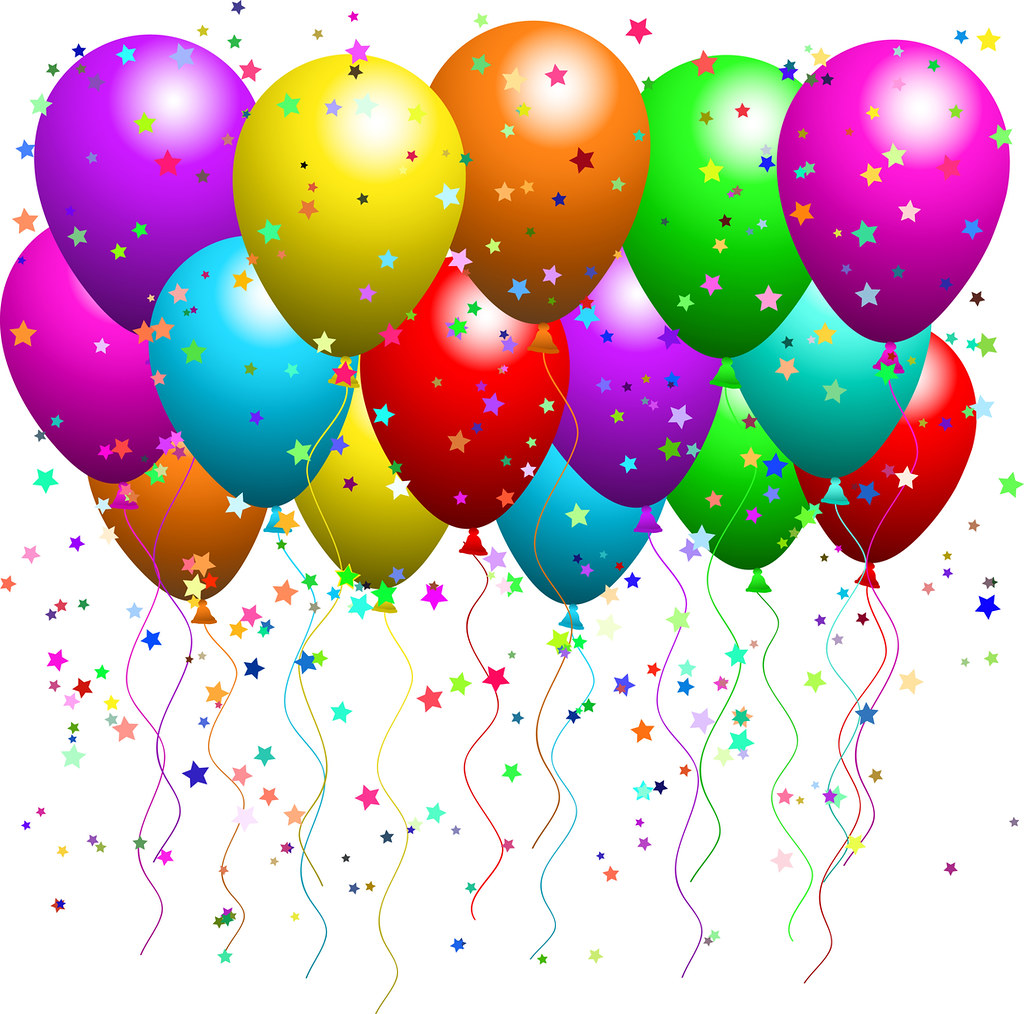 Library of party balloons svg transparent download png files ...