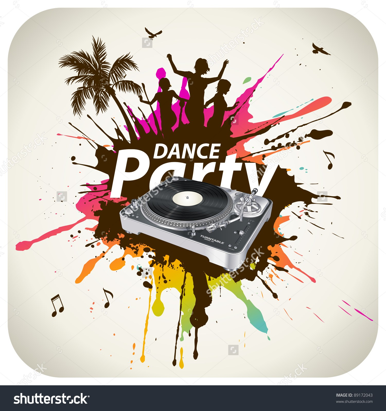 Party dj clipart banner freeuse stock Dj party clipart 6 » Clipart Portal banner freeuse stock