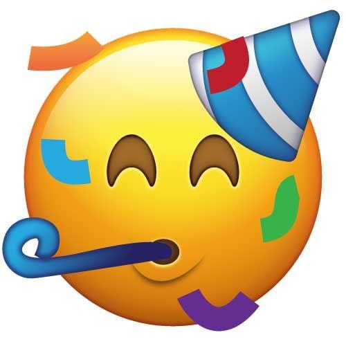 Party emoji clipart clip library Party Emoji | Birthday | Festa emoji, Decoração de festa ... clip library