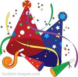 Party favor clipart vector transparent download New year party favor clipart - Clipartix vector transparent download