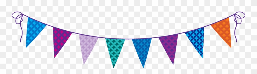 Party flag clipart png royalty free stock Birthday Party Flag Png Clipart (#3261788) - PinClipart png royalty free stock