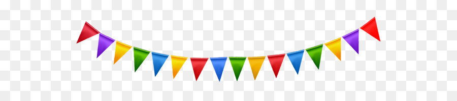 Party flag clipart