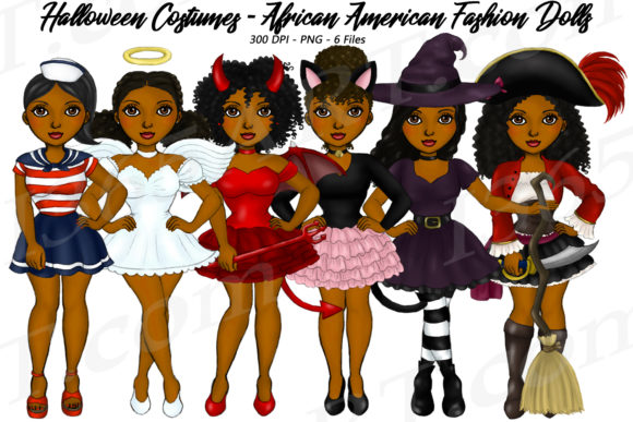 Party girls clipart png freeuse Halloween Party Girls Clipart African png freeuse