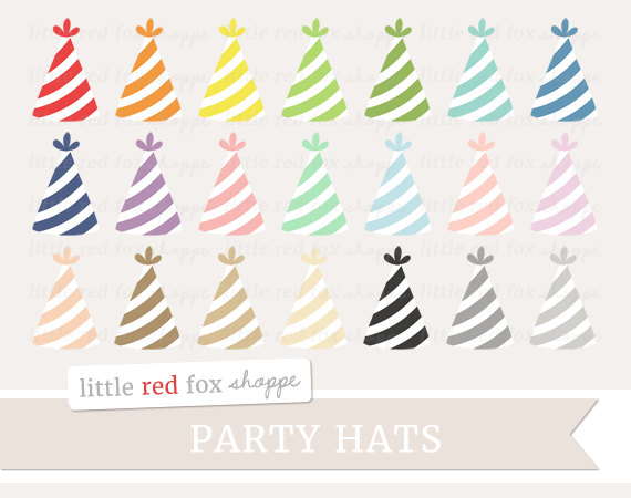 Party hat clipart pastel color clip art freeuse Cute party hat clipart - ClipartFest clip art freeuse