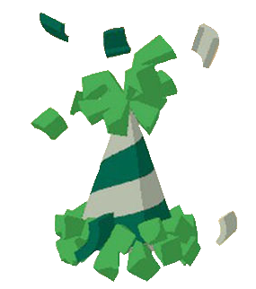 Party hat cliparts animal jam graphic library stock animal jam party | Animal Jam - Party Hat [Green a ... graphic library stock