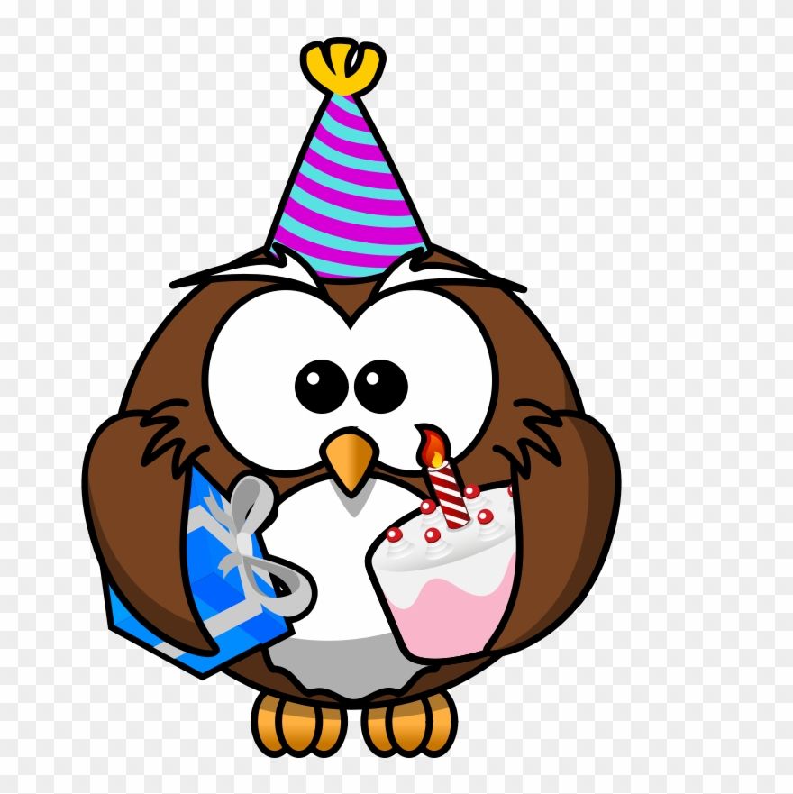 Party hat cliparts animal jam image library download Image For Owl Party Animal Clip Art - Cartoon Owl - Png ... image library download