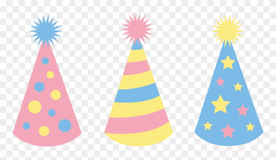 Party hat vector clipart image stock Codes For Insertion - Birthday Hat Vector Png Clipart (#6946 ... image stock
