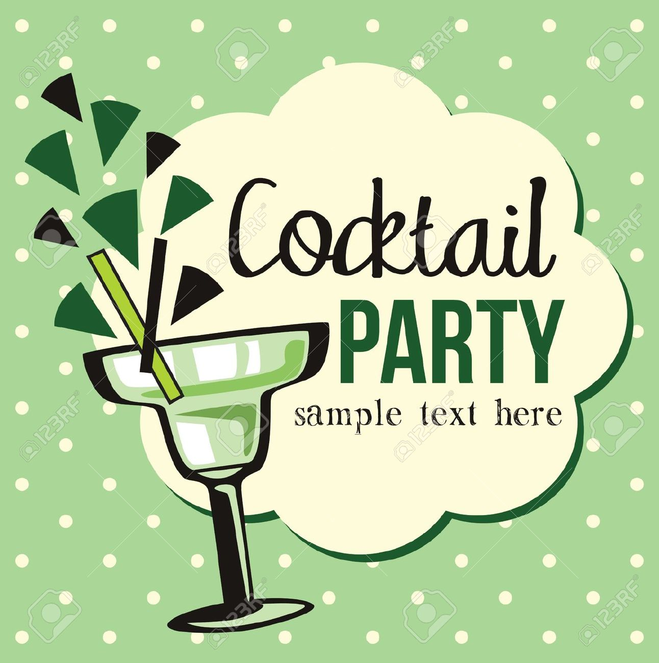 Vintage cocktail party clipart clip art black and white Holiday Party Clip Art | Free download best Holiday Party ... clip art black and white