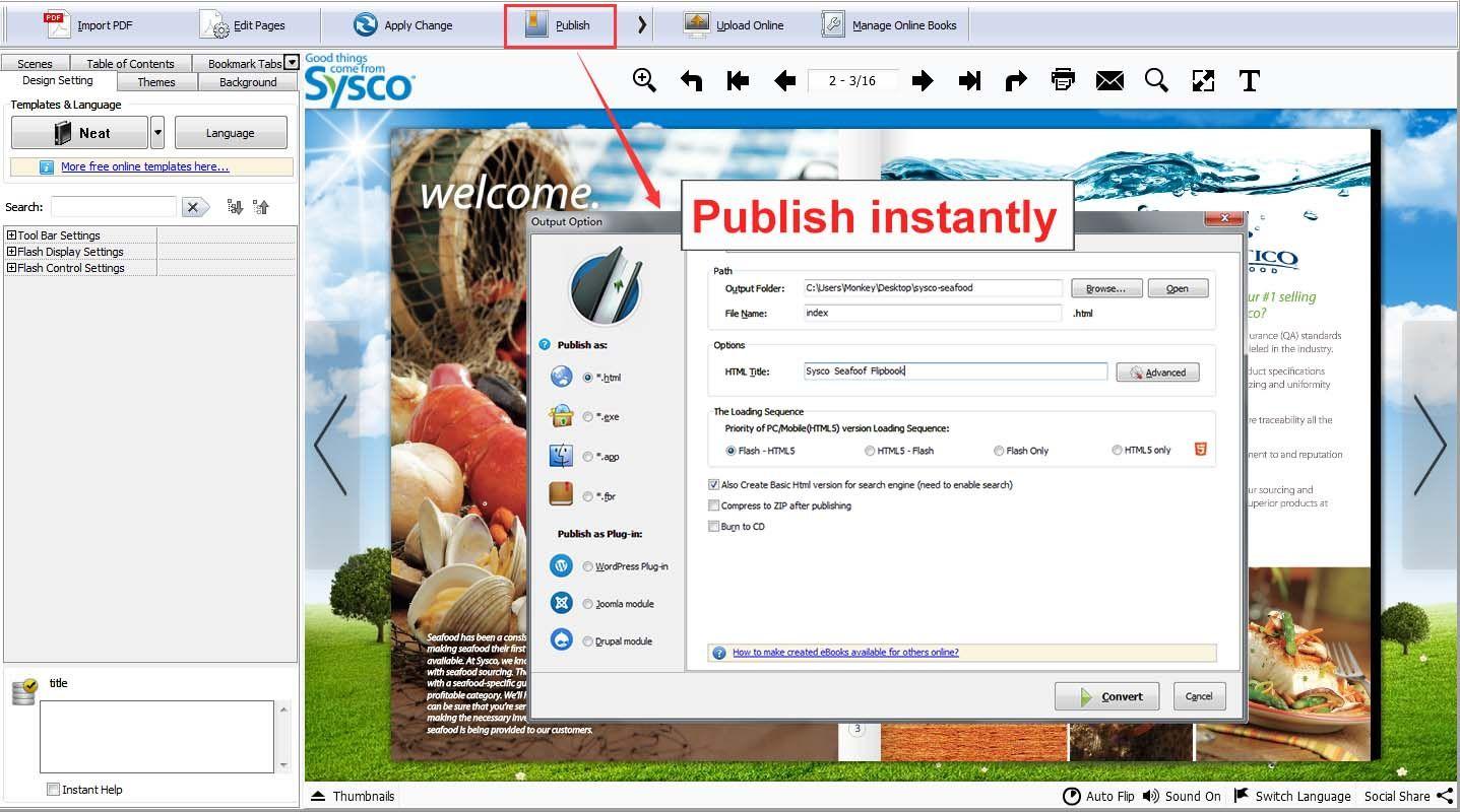 Pasar de pdf a clipart online vector royalty free stock Flip PDF Professional: Convert PDF to Flipbook and Embed ... vector royalty free stock