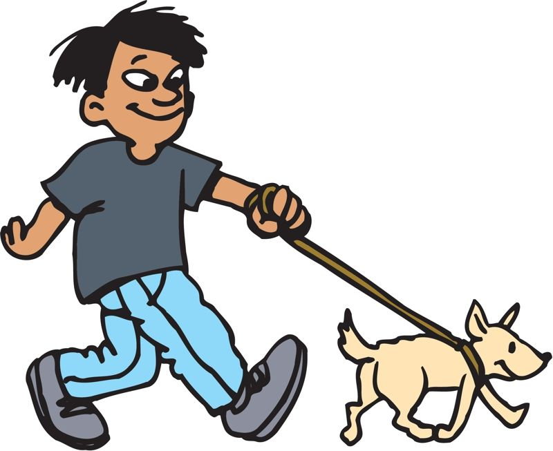 Pasear clipart graphic transparent download Tengo que pasear al perro. Mi nombre de los perros es Tesla ... graphic transparent download