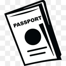 Passaport clipart graphic library stock Passport clipart black and white 8 » Clipart Station graphic library stock