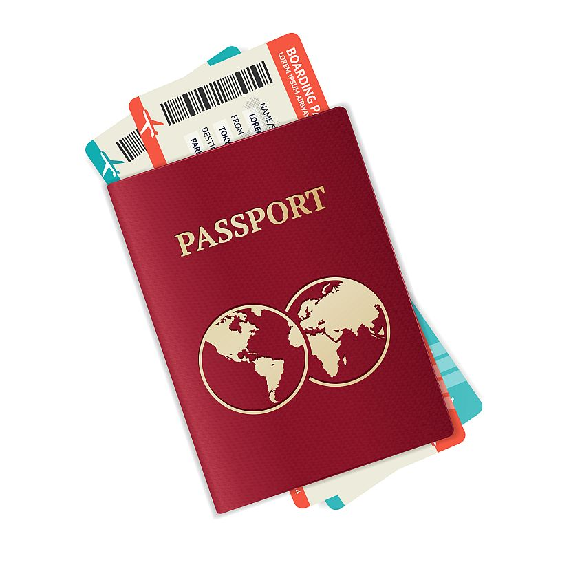 Passaport clipart picture black and white library Download red passport clipart Passport Royalty-free Clip art picture black and white library