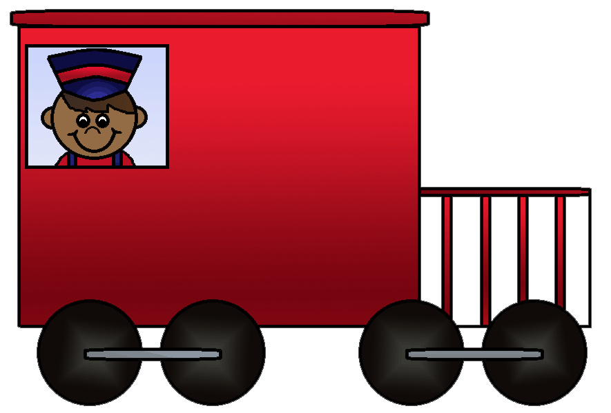 Train passenger car clipart banner black and white download Train Rail transport Caboose Passenger car Clip art - Little Train ... banner black and white download