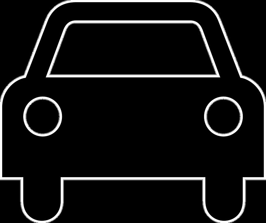 Passenger car clipart free PNG Vehicles Black And White Transparent Vehicles Black And White ... free