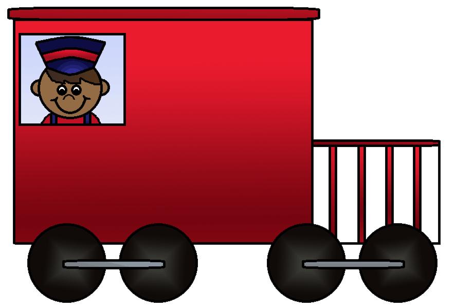 Passenger train car clipart picture black and white stock Train Rail transport Caboose Passenger car Clip art - Little Train ... picture black and white stock