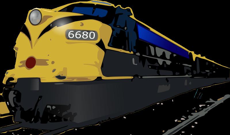 Passenger train car clipart image library stock Clipart - passenger train image library stock