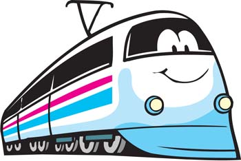 Passenger train clipart graphic black and white Passenger Train Clipart | Clipart Panda - Free Clipart Images graphic black and white