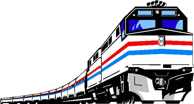 Passenger train clipart clipart royalty free library Passenger train clipart » Clipart Portal clipart royalty free library