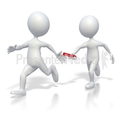 Passing the baton clipart png black and white download Passing Baton Teamwork - Education and School - Great ... png black and white download