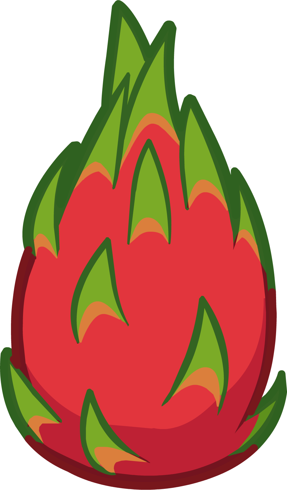 Passion flower clipart clip royalty free download Pitaya Fruit Clip art - passion fruit 973*1658 transprent Png Free ... clip royalty free download