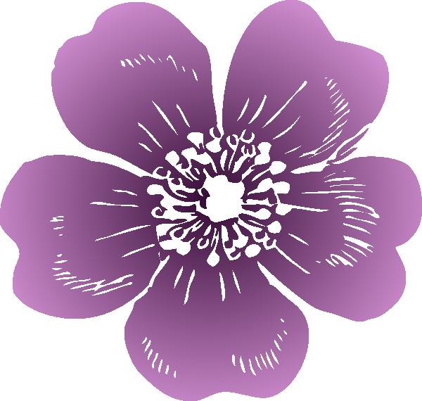 Passion flower clipart png transparent library Wild Rose Clip Art at Clker.com - vector clip art online, royalty ... png transparent library