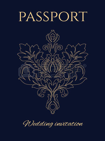 Passport cover clipart freeuse 778 Passport Cover Stock Vector Illustration And Royalty Free ... freeuse
