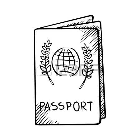 Passport cover clipart png freeuse stock 778 Passport Cover Stock Vector Illustration And Royalty Free ... png freeuse stock