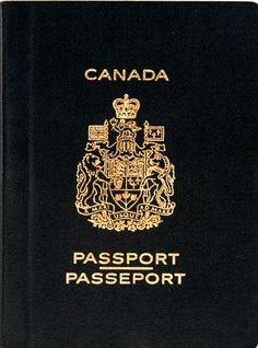 Passport cover clipart vector free library Canadian passport clipart - ClipartFest vector free library