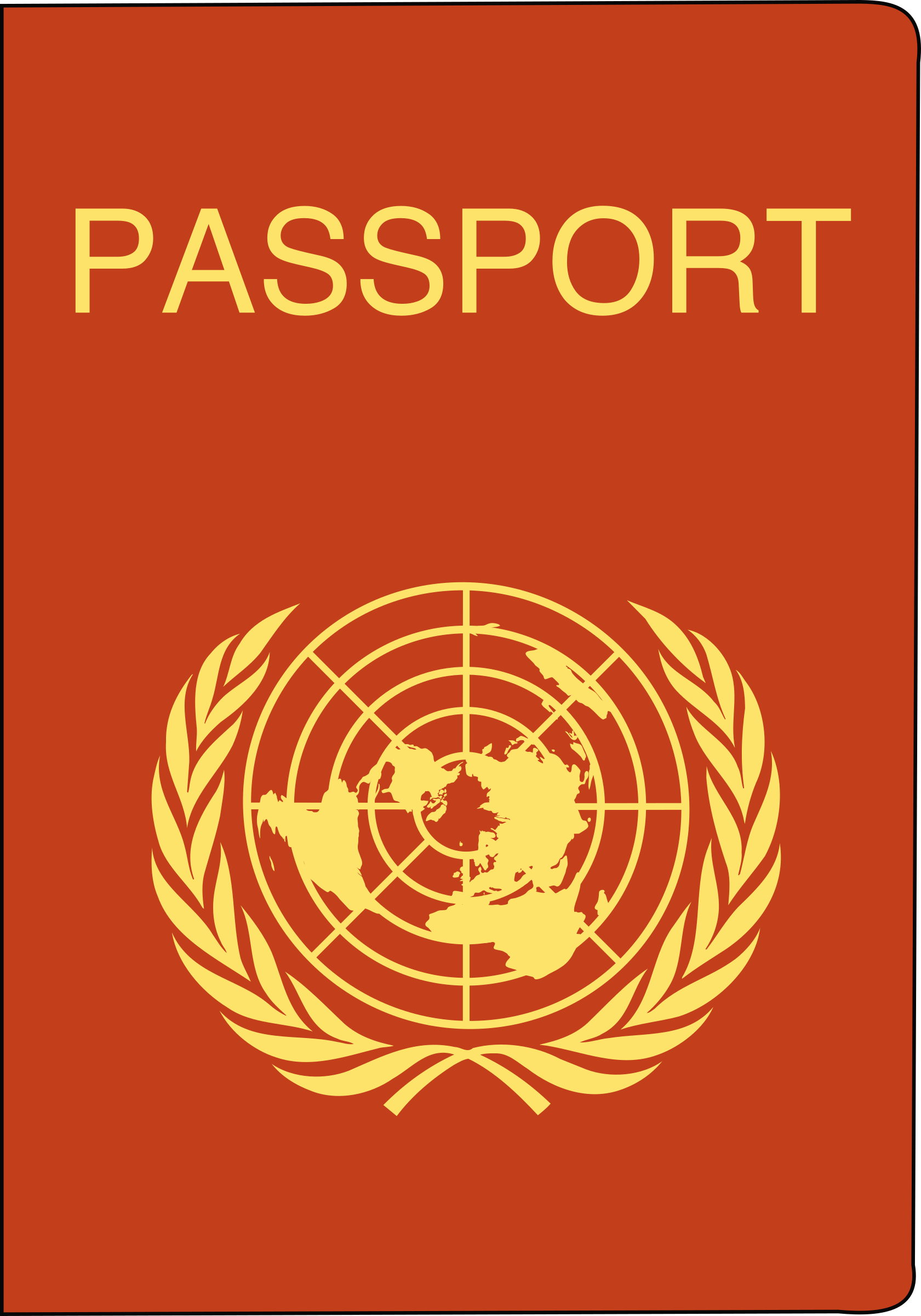 Passport cover clipart banner royalty free download Passport Clipart | Clipart Panda - Free Clipart Images banner royalty free download
