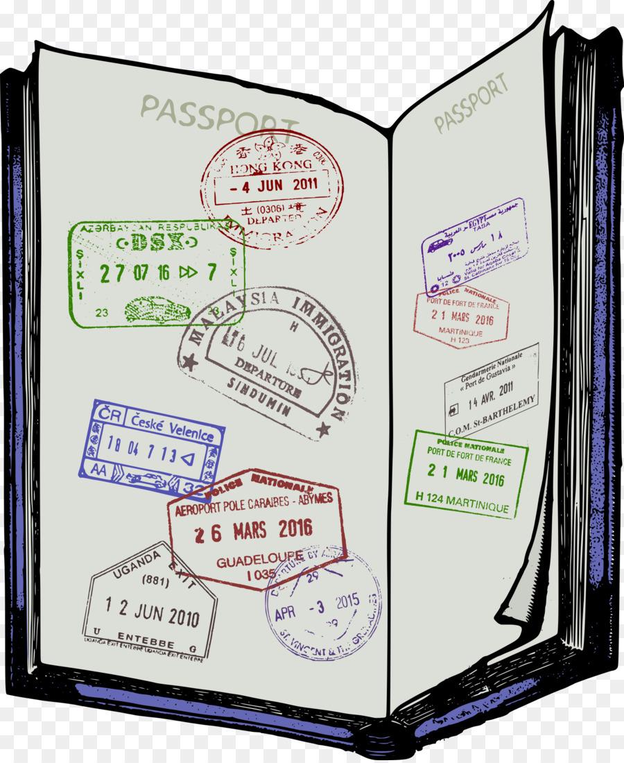 Passport images clipart image Travel Passport clipart - Text, Product, Font, transparent clip art image