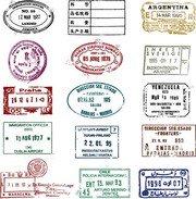 Passport stamp clipart free Free Passport Stamp Clipart and Vector Graphics - Clipart.me free