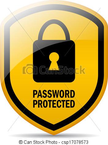 Password security clipart vector stock Password security clipart - ClipartFest vector stock