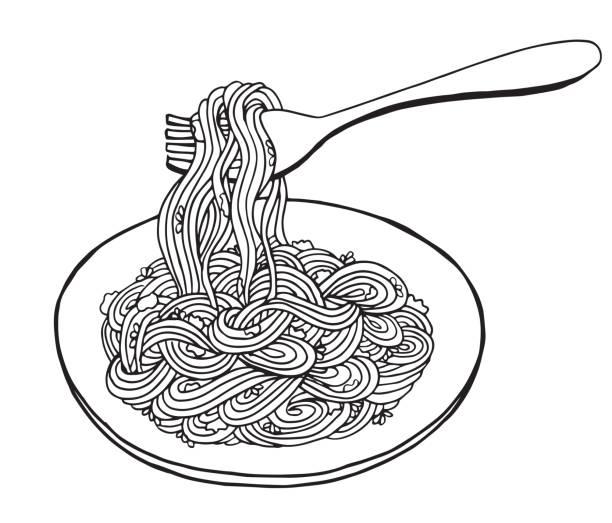 Pasta black and white clipart picture black and white download Pasta Clipart Black And White (95+ images in Collection) Page 3 picture black and white download