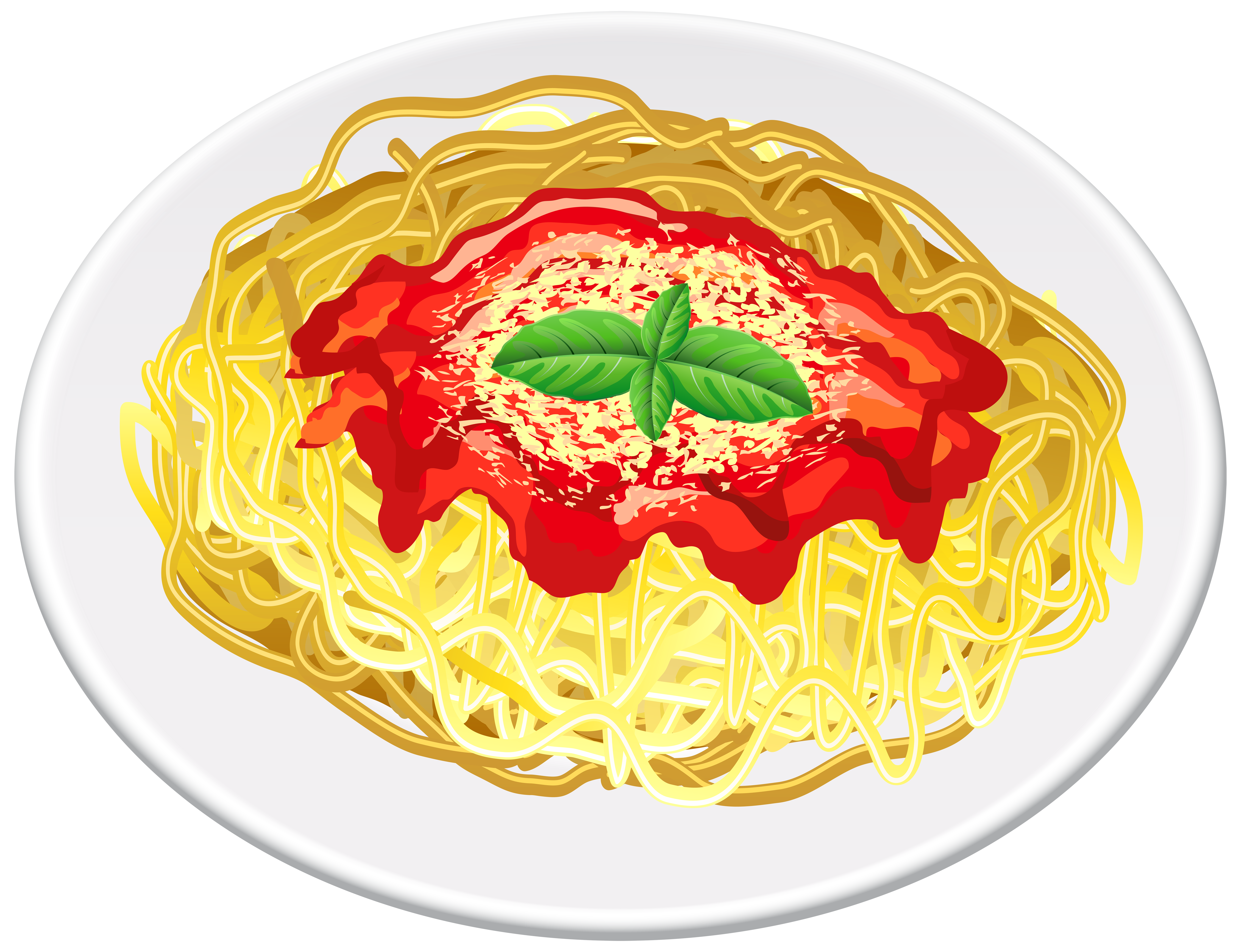 Pasta clipart free download jpg freeuse stock Pasta Transparent PNG Clip Art Image | Gallery Yopriceville ... jpg freeuse stock