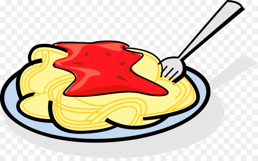 Pasta illustration clipart png transparent stock Food Background clipart - Pasta, Illustration, Yellow ... png transparent stock