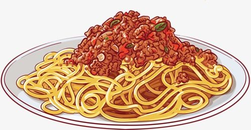 Pastasauce clipart svg Image result for clipart blackline pictures of spaghetti ... svg