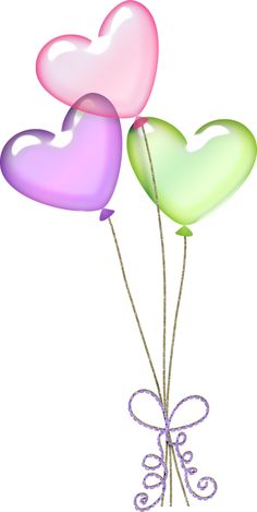 Pastel balloons clipart graphic Balloons PNG Clipart | Imágenes cumpleaños | Pinterest | Clip art ... graphic