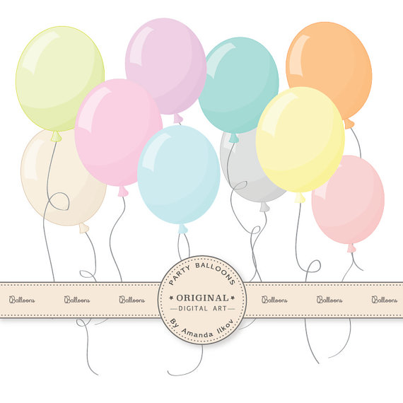 Pastel balloons clipart svg Pastel balloons clipart - ClipartFest svg