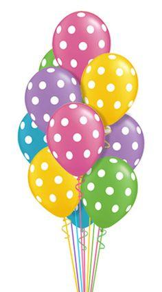 Pastel balloons clipart clip art freeuse tubes anniversaires - Blog de l'ile de kahlan | Inspiration ... clip art freeuse