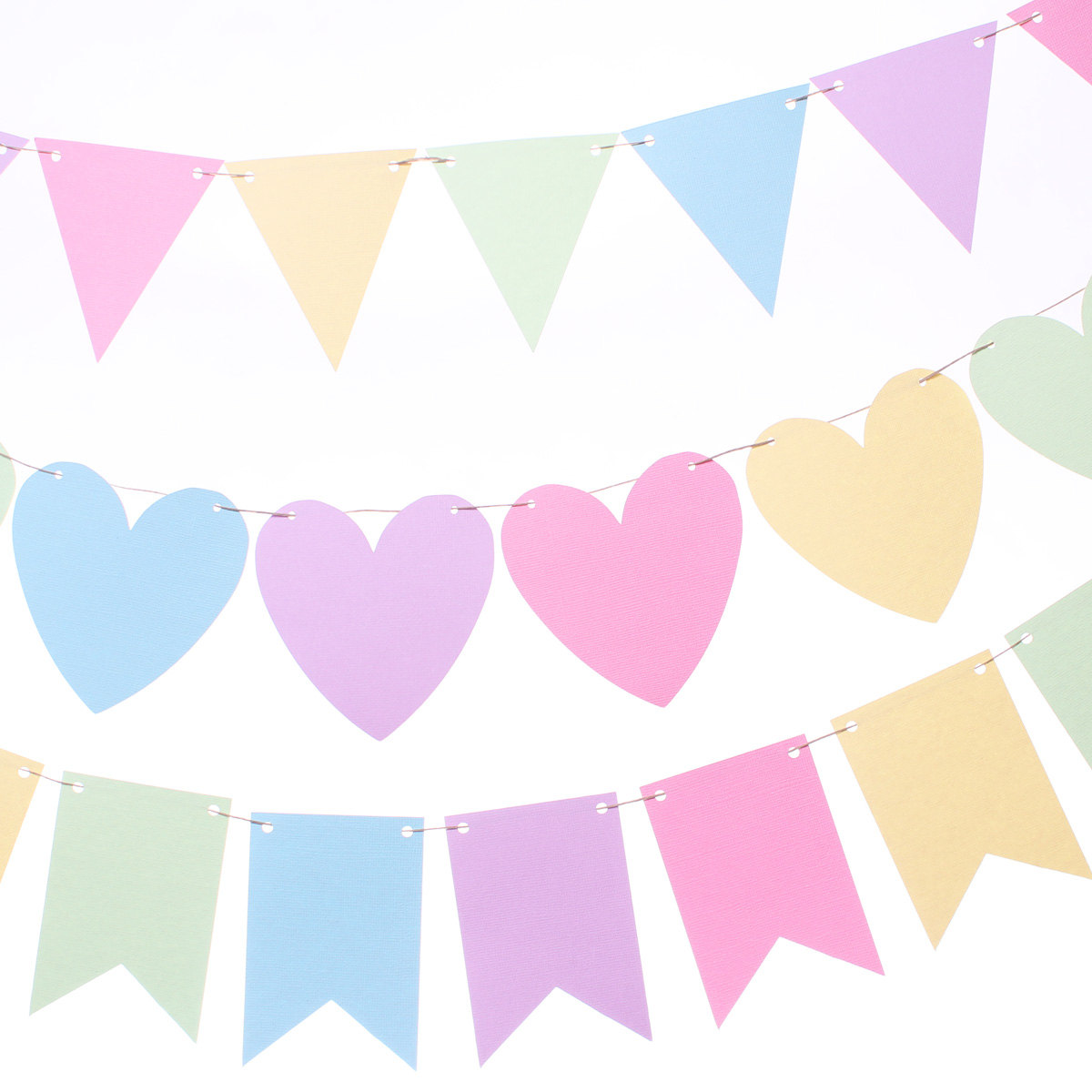 Pastel banner clipart transparent library Pastel rainbow flag banner bunting by makeitmerryshop jpg ... transparent library