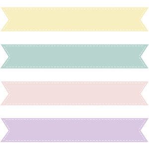Pastel banner clipart clipart royalty free download Pastel Banner Cliparts - Cliparts Zone clipart royalty free download