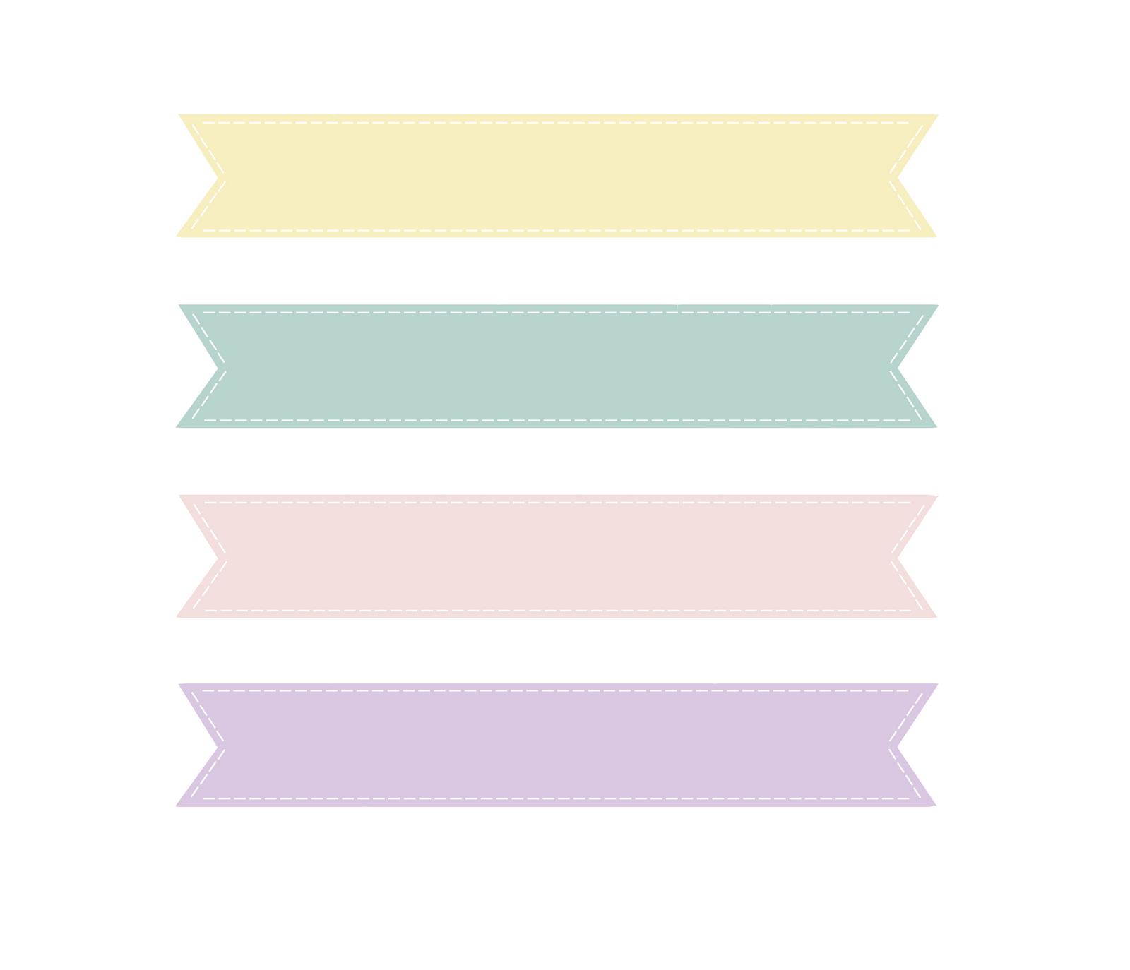 Pastel banner clipart download Banner Clip Art   Coloring Pages Blog   Illustration ในปี ... download