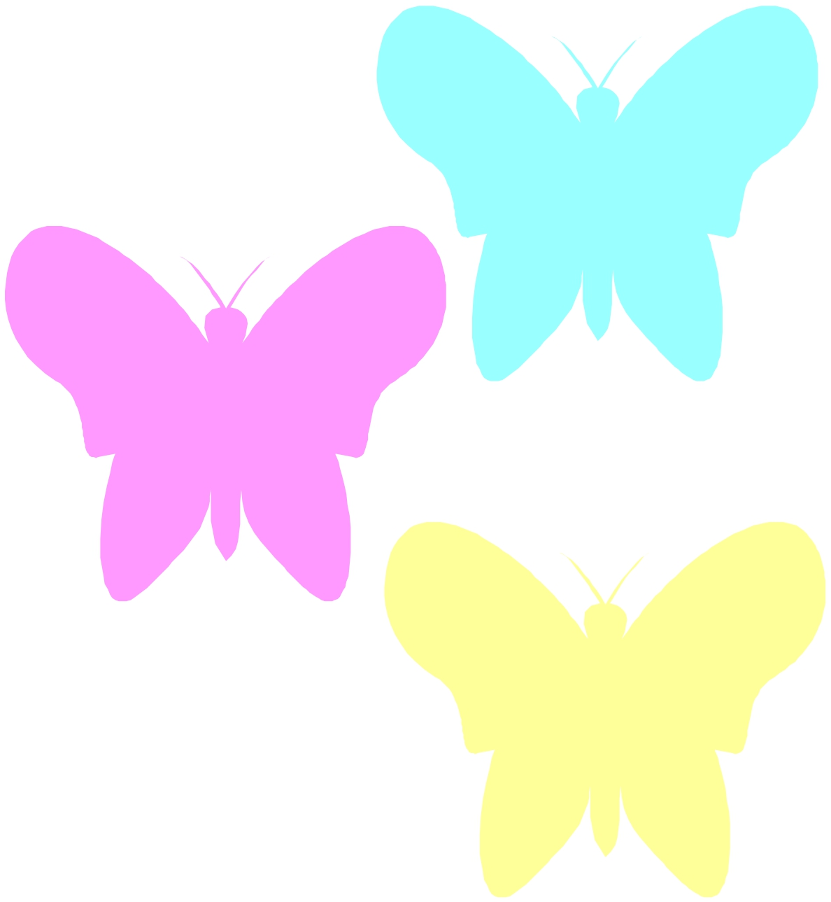Pastel butterfly clipart jpg transparent stock Pastel butterfly clipart - ClipartFest jpg transparent stock