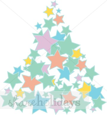 Pastel christmas tree clipart jpg transparent library Christmas Tree Clipart, Christmas Tree, Christmas Tree Image - The ... jpg transparent library