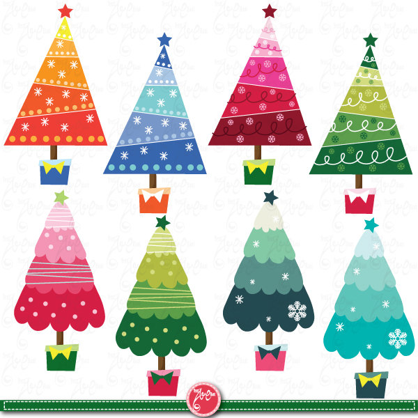 Pastel christmas tree clipart svg royalty free download Pastel christmas tree clipart - ClipartFest svg royalty free download