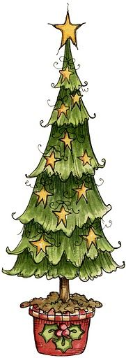 Pastel christmas tree clipart freeuse download 17 Best ideas about Cartoon Christmas Tree on Pinterest | Tree ... freeuse download