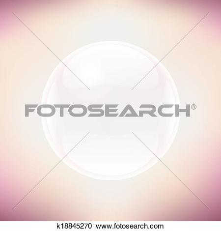 Pastel clipart transparent background banner royalty free stock Clipart of Transparent Sphere And Pastel Background k18845270 ... banner royalty free stock