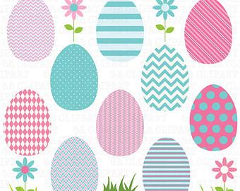 Pastel easter egg clipart svg royalty free download Stripe easter eggs clipart - ClipartFest svg royalty free download