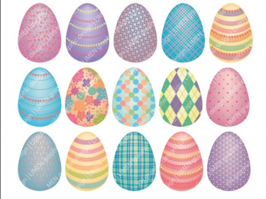 Pastel easter egg clipart svg Easter egg printable clipart - ClipartFest svg