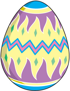 Pastel easter egg clipart clip black and white stock Images of Easter Eggs Clip Art - Wedding Goods clip black and white stock